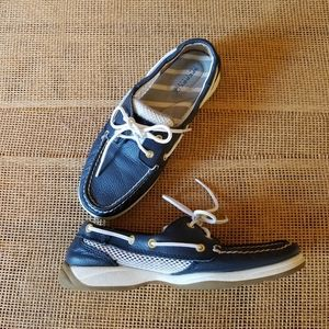 Sperry | Firefish Topsider Leather with Mesh 7
